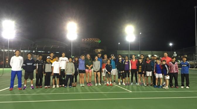 夏休みのテニス留学