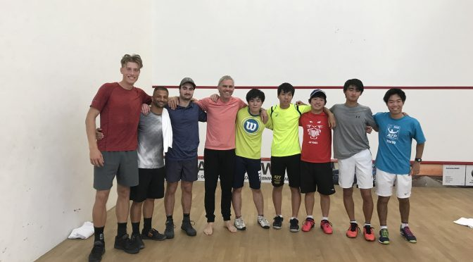 短期テニス留学のニューメンバー到着