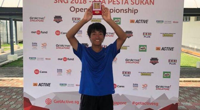 ITF Singapore Junior Championships 優勝おめでとう🎉